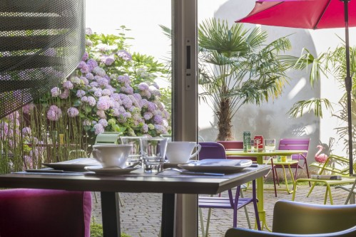 Acanthe Boulogne Hotel – Patio